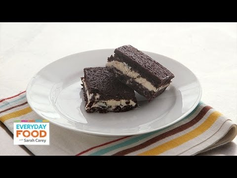 Brownie-Ice Cream Sandwich - Everyday Food with Sarah Carey