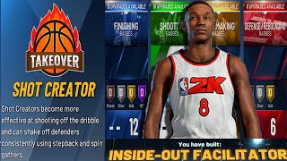 NBA 2k20 Creating Best Point Guard Build Ever (99 Overall Inside Out Facilitator)