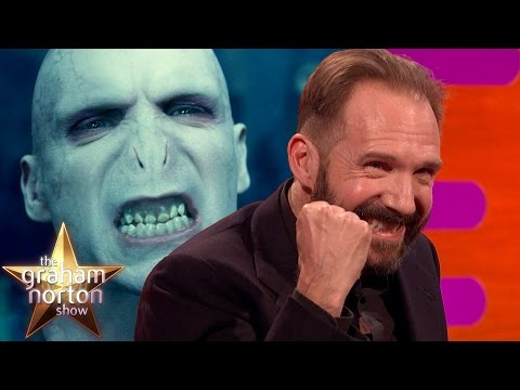 Ralph Fiennes Discusses Playing Voldemort in Harry