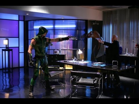 "Smallville season 6 episode 7 ""Rage"" An arrow or a bullet?? Oliver and Lex shoot each other"
