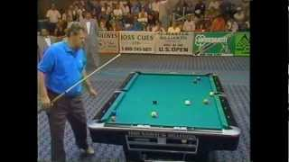 Jose Parica Vs Buddy Hall - 1992 US Open 9 Ball Championships