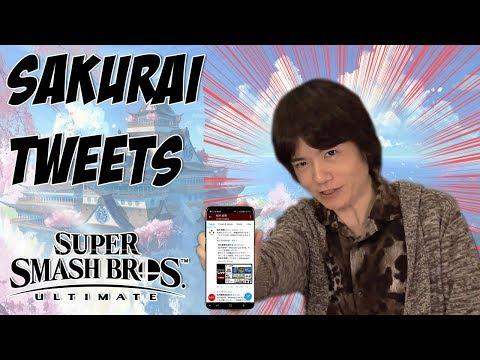 Sakurai Tweets and Vergeben Silence! Possible Smash Bros Ultimate Direct news?