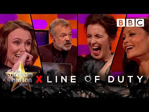 Graham Norton undercover with Line Of Duty's leading ladies! 🔫💥 - BBC The Graham Norton Show
