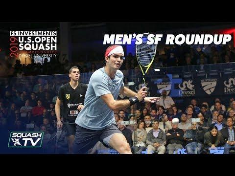 Squash: U.S. Open 2019 - Men's Semi Final Roundup