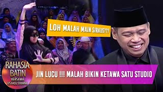 Download Video Kelakuan Jin Ini Bikin Ketawa Satu Studio - Rahasia Batin (22/3) MP3 3GP MP4