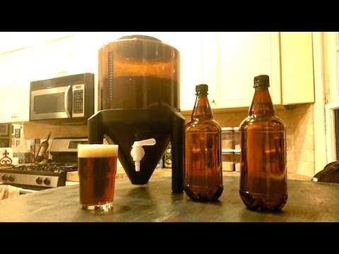 , title : 'Homemade Beer From a Kit'