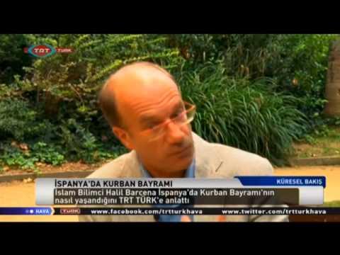 Entrevista a Halil Bárcena, autor del llibre 'El sufisme' a la TRT Türk (en turc)