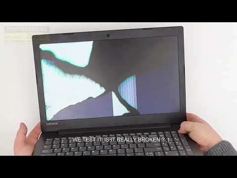 How To Replace Broken Screen, Lcd Display Screen Replacement On Lenovo Ideapad 330, Diy, 330-15