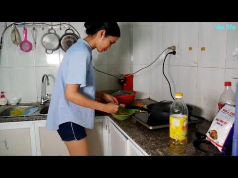 Cùng Vie Girl Làm Món Kimbap Siêu Ngon