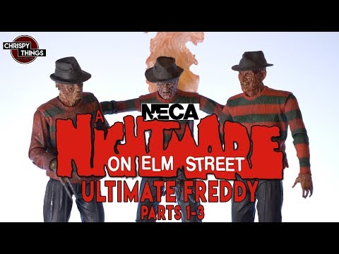 Neca A Nightmare on Elm St. ULTIMATE Freddy Collection! Part 1-3!