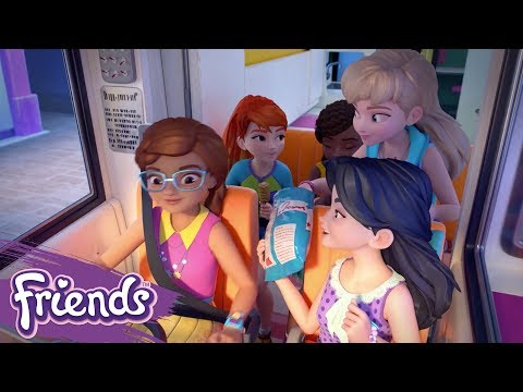 Friends: Girls on a Mission | LEGO® Shorts | Episode 1: Road Trip