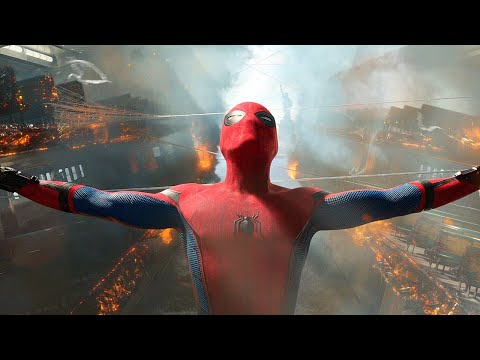 Spider-Man & Iron Man - Ferry Rescue Scene - Spider-Man: Homecoming (2017) Movie CLIP HD
