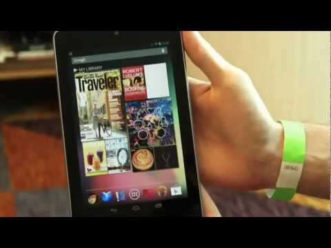 Eerste hands-on video van de Nexus 7