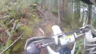 10. 2006 YZ250 Two-Stroke NW Woods Ride - April '14 - Vol 1