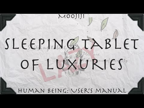 Mooji Audio: Luxuries Are the Sleeping Tablet for the Seeker