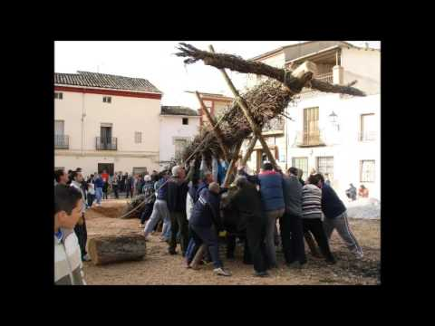 La quema del Judas - Tielmes (Madrid)
