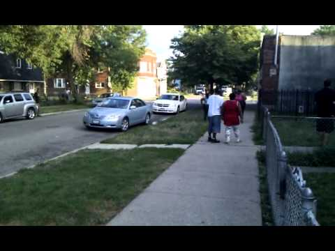 2013 Hood fights ..englewood s64thside…la flin