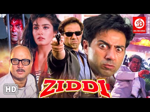Ziddi Action Movie {HD} Sunny Deol Movies - Raveena Tandon - Anupam Kher - Bollywood Action Movies