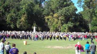 My Down Low Bar: Here is part two in our ECU Band Day 2010 vlog series. This chronicles the ECU Marching Pirates during part of their rehearsal. It also show...