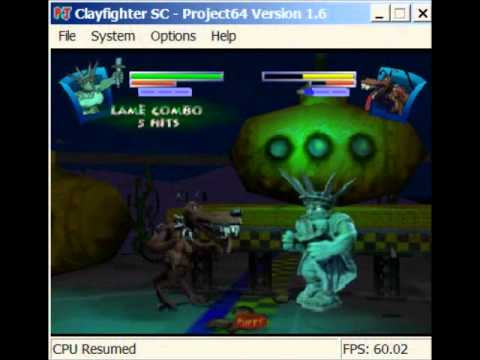 Clay Fighter : Sculptor's Cut Nintendo 64