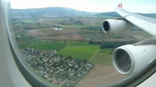 Aircraft: HB-JMC Date: September 12 2010 Swiss Flight LX161 landing in Zurich Kloten after 11 hour and 55 minutes inbound...