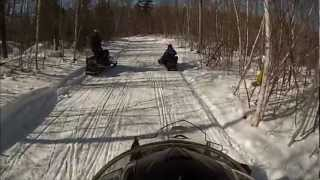 8. Riding the NEW  2013 Polaris Indy 600 SP