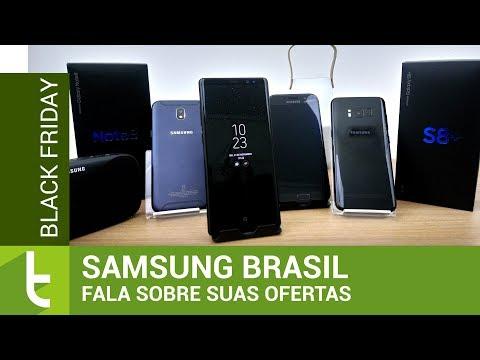 Samsung Brasil fala sobre as ofertas para a Black Friday  TudoCelular.com