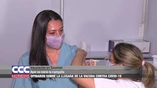 Vacunación en Tucumán