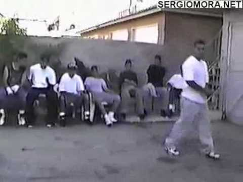Sergio Mora 15Years Old In Back Yard BBq Boxing Part 3 0f 3