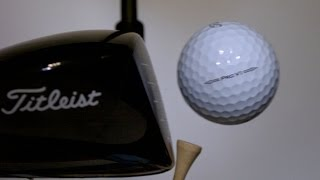 The Moment of Impact. An Inside Look at Titleist Golf Ball R&D