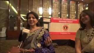 Internationally acclaimed fashion designer Shaina NC Exclusive with Nagpurinfo