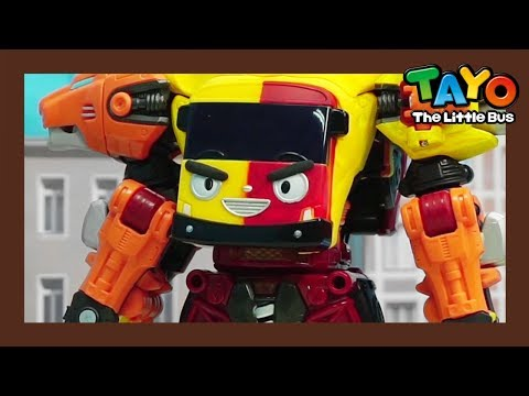 Tayo Toys the world's fastest robot! Be careful! l Tayo Rangers Special #3 l Tayo The Little Bus