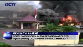 Video Oknum TNI Mengamuk di Polres OKU MP3, 3GP, MP4, WEBM, AVI, FLV Desember 2017