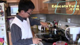 How To Cook Thai Curry Vegetable Stir Fry Rice Recipe Meal In 15 Minutes Quick Healthy Meal HD Video