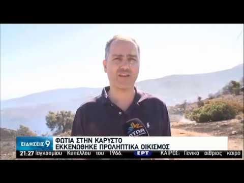 Πυρκαγιά στην Κάρυστο – Εκκενώθηκε προληπτικά οικισμός    11/07/20   ΕΡΤ
