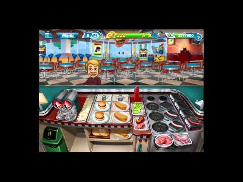 Cooking Fever [iPad Gameplay] Level 16