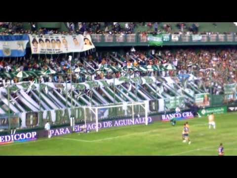 Hinchada de Banfield 3 frente a Rosario Central 1 - La Banda del Sur - Banfield