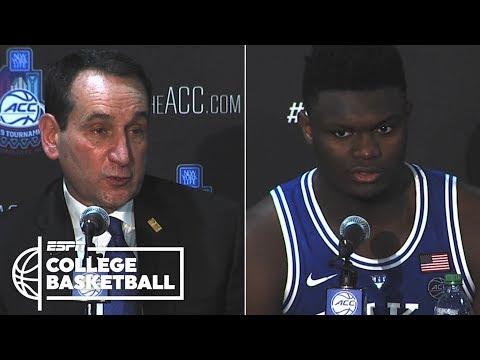 Coach K calls ACC semifinals 'vintage Duke-North Carolina'   College Basketball Sound