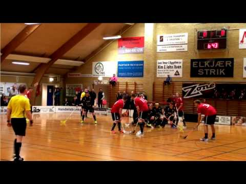 19.03.2017Sunds Seahawks FC VS Skanderborg Killerbees - Kvartfinale Floorball kamp 2