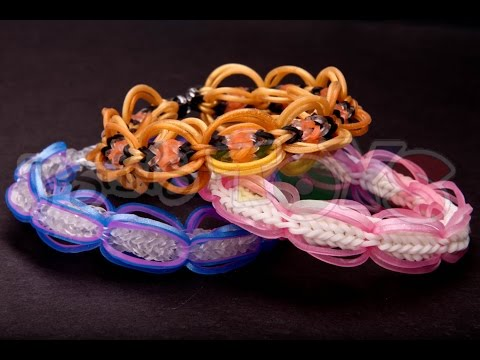 GLOBAL Bracelet Tutorial – Rainbow Loom – EASY