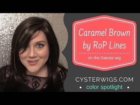 Cysterwigs Color Spotlight: Caramel Brown By Rop Lines (on Dakota)