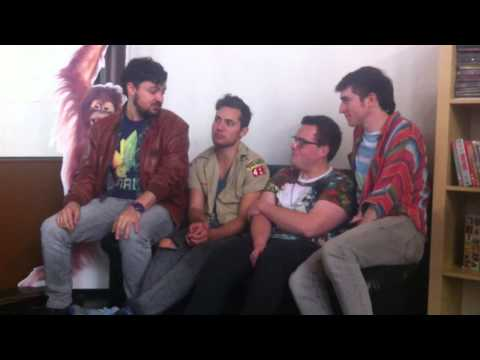 EXCLUSIVE: theMusic Backstage Walk The Moon Part One