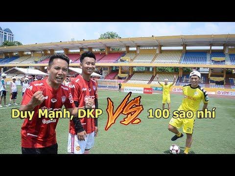 Thử thách bóng đá với Duy Mạnh , Đình Trọng U23 Việt Nam VS 100 cầu thủ nhí - Thời lượng: 4:54.