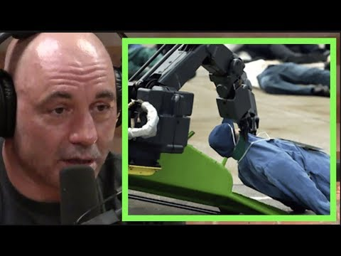 "Joe Rogan Is Freaked Out By ""murderous...flesh Eating"" Robots"