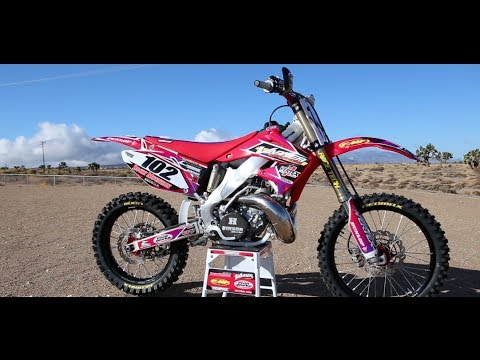 Motocross Action tests the Vertex/Varner CR250 Two Stroke