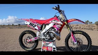 3. Motocross Action tests the Vertex/Varner CR250 Two Stroke
