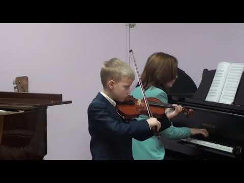 Отчетный концерт струнного отделения 2019 г.