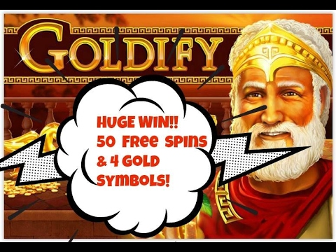 50 Free Spins Goldify Slot Machine