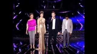 النتائج النهائية - العروض المباشرة 1- The X Factor 2013
