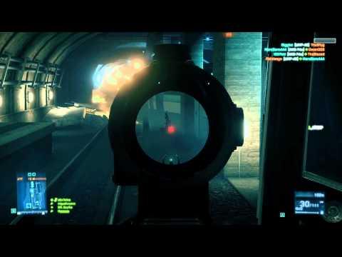 Battlefield 3 Beta: DAO-12 Semi-Automatic Shotgun Gameplay/Commentary